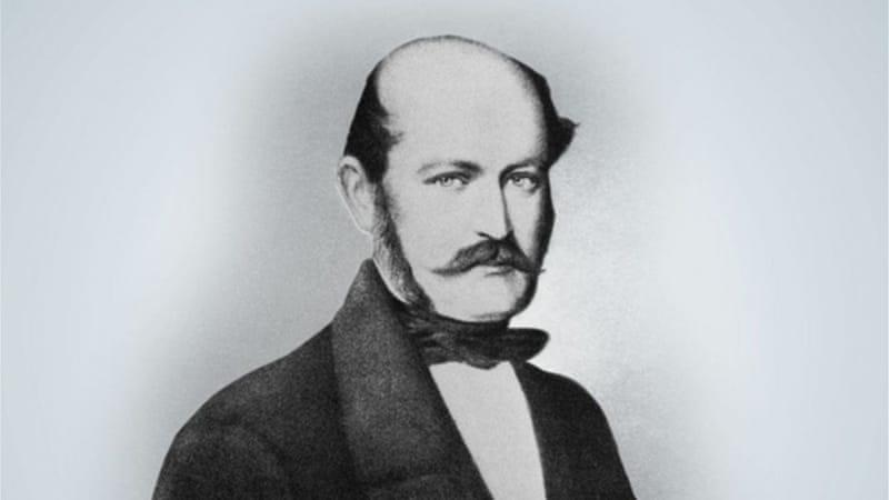 Otac higijene ruku je malo poznati porodničar mađarskog porijekla Ignaz Semmelweis (1818. – 1865.)