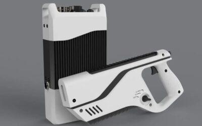 The Paladyne E1000MP pištolj za obranu od dronova