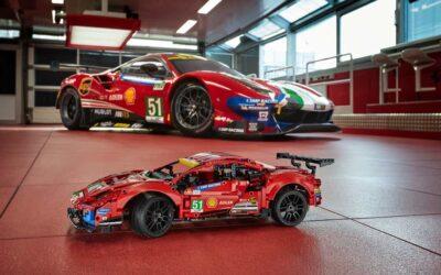 LEGO Technic Ferrari 488 GTE ima stvarne klipove koji se kreću